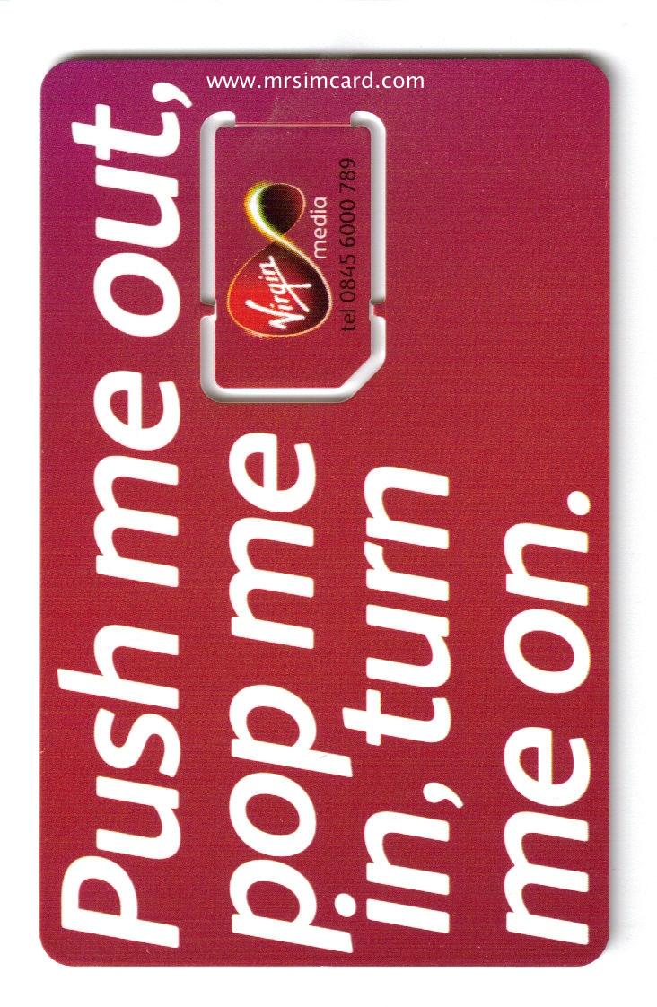 MRSIMCARD COM – begins offering Virgin Mobile UK Prepaid Sim